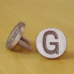 Brass Gas G Identification marker – Brass Gas - G - Quality Australian made Kerbmarkers, Tags & Plates since 1998. Stainless Steel & Brass Markers, Tags & Labels - Stainless Steel G also available