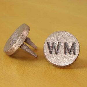 Brass Water Main – WM Markers - Quality Australian made Kerbmarkers, Tags & Plates since 1998. Stainless Steel & Brass Markers, Tags & Labels - Stainless Steel WM also available