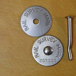 Rail Survey Mark