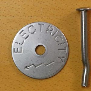 Stainless Steel Cable tags - Electrical marker